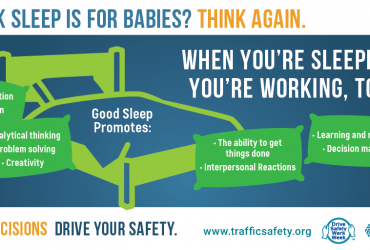 Good sleep is critical to fleet driver safety.