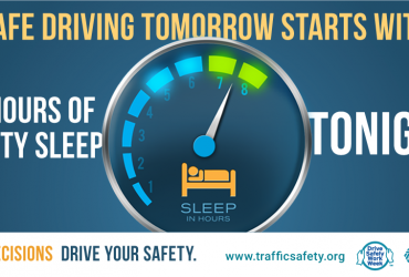 Safe Driving Requires 7-8 Hours of Sleep Every Night